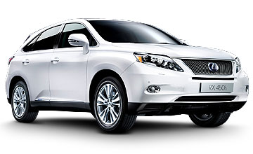 Lexus RX400H 2009 3.3 Litre V6 Servicing Prices