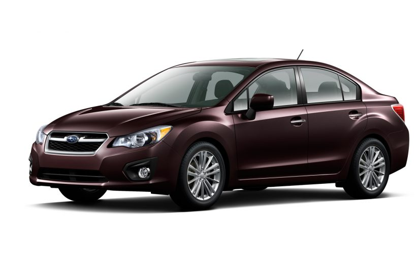 Subaru Imprezza 2012 2.0L Auto Servicing Prices