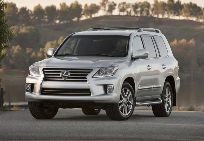 Lexus LX570 2011 5.7 Litre V8 Servicing Prices